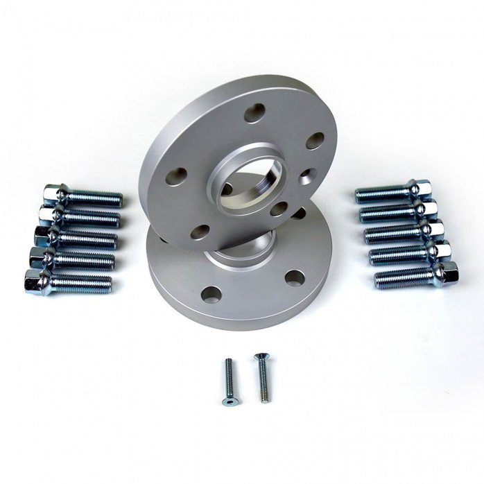 Wheel Spacer Kit with Ball Seat Lug Bolts - PORSCHE 5x112x66.45 th.16mm