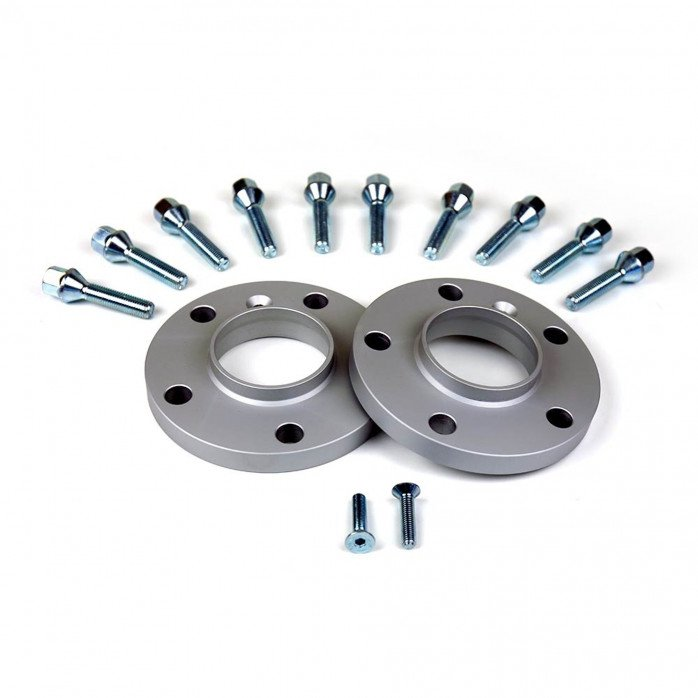 Wheel Spacer Kit with Cone Seat Lug Bolts - VAG. 5Xx112x57.0 th.20mm