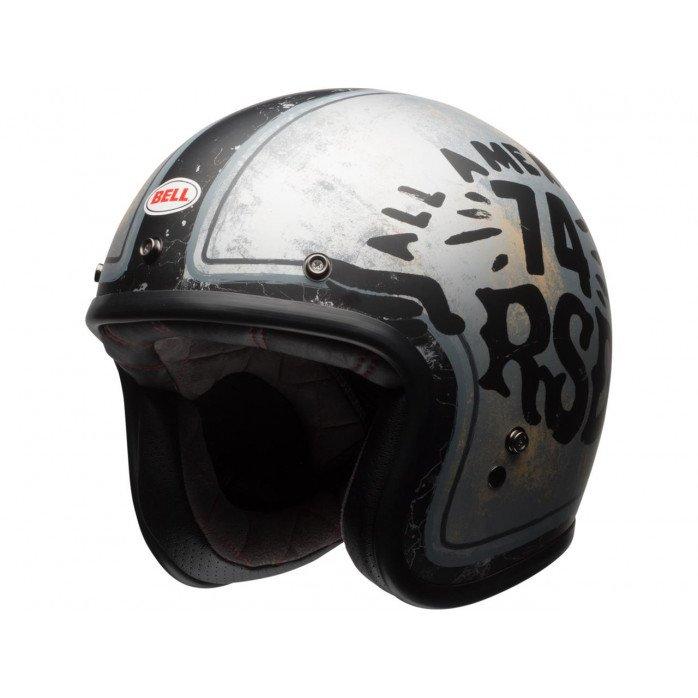 BELL Custom 500 SE Helmet RSD 74 Black/Silver Size S