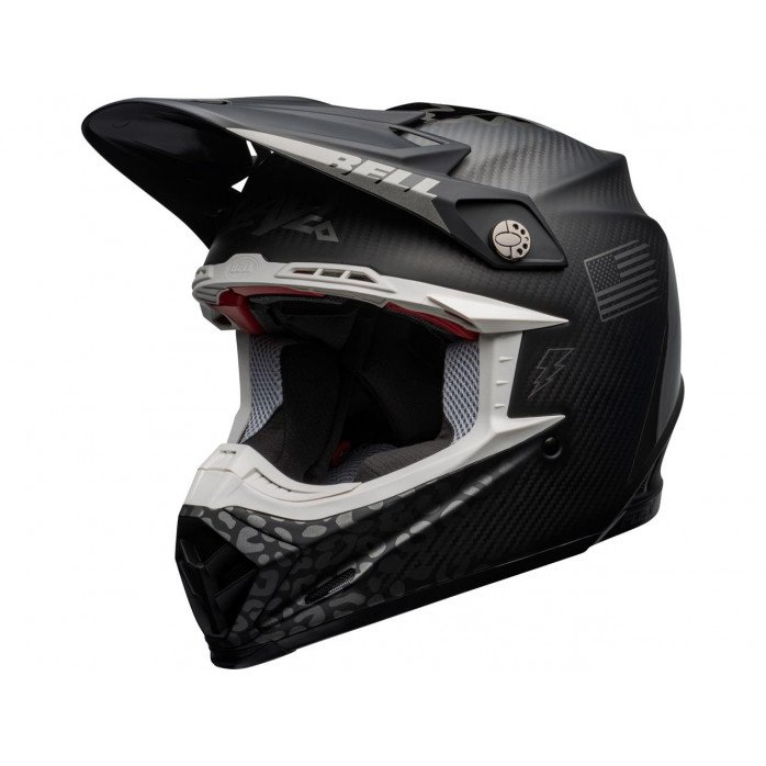 BELL Moto-9 Flex Helmet Slayco Matte/Gloss Gray/Black Size XL