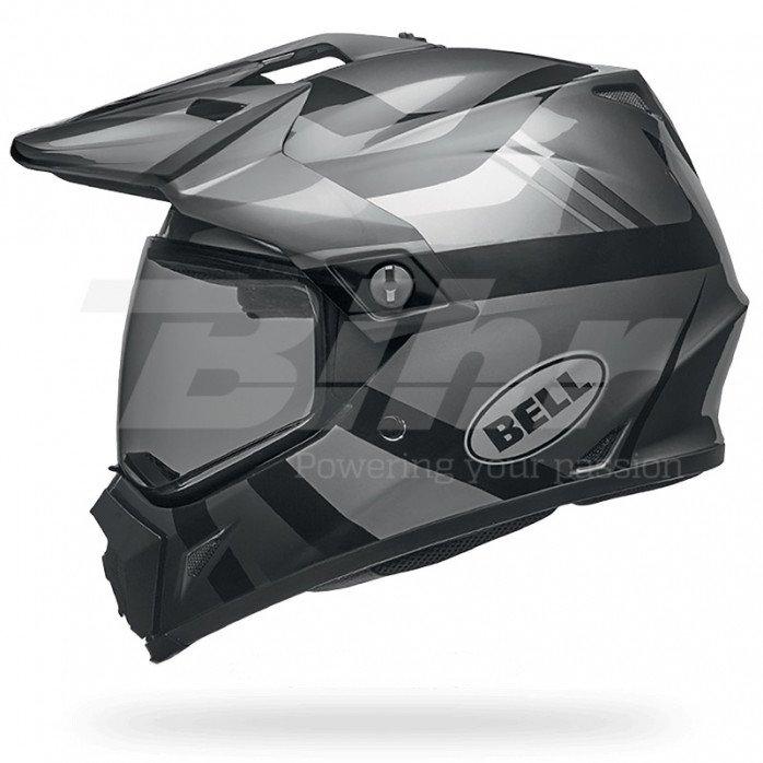 BELL MX-9 Adventure Mips Helmet Matte/Gloss Blackout Size L