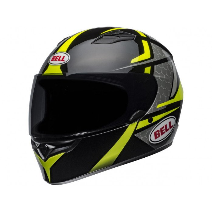 BELL Qualifier Helmet Flare Gloss Black/Hi Viz Size L
