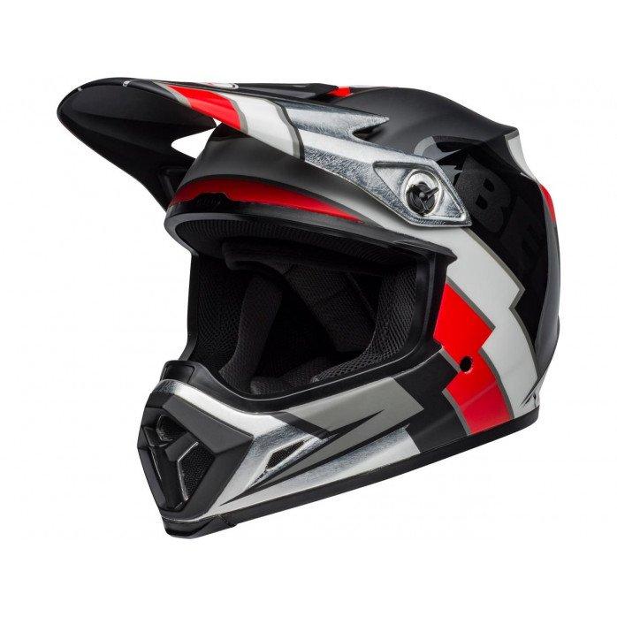 BELL MX-9 Mips Helmet Twitch Replica Matte Black/Red/White Size L