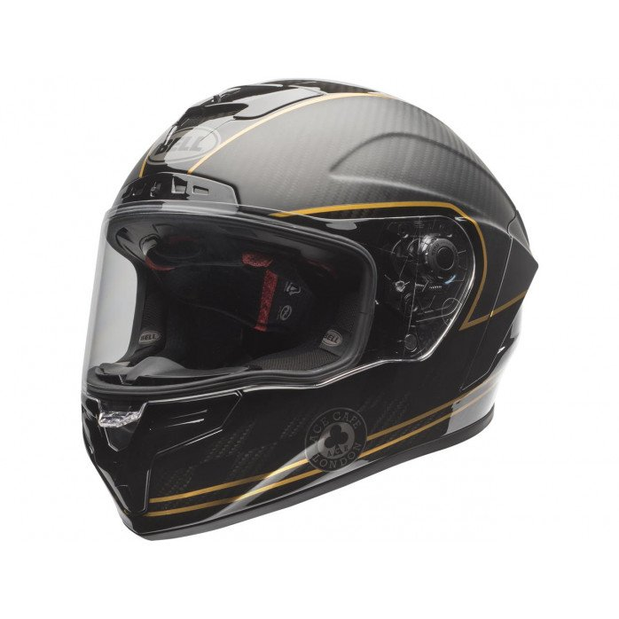 BELL Race Star DLX Helmet Ace Cafe Matte Black/Gold