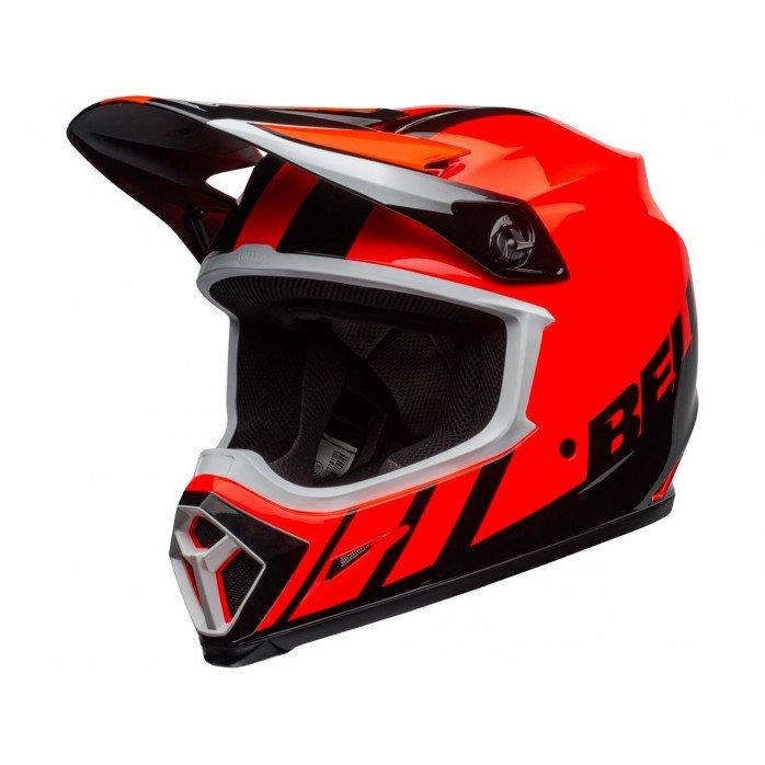 BELL MX-9 Mips Helmet Dash Orange/Black Size XL