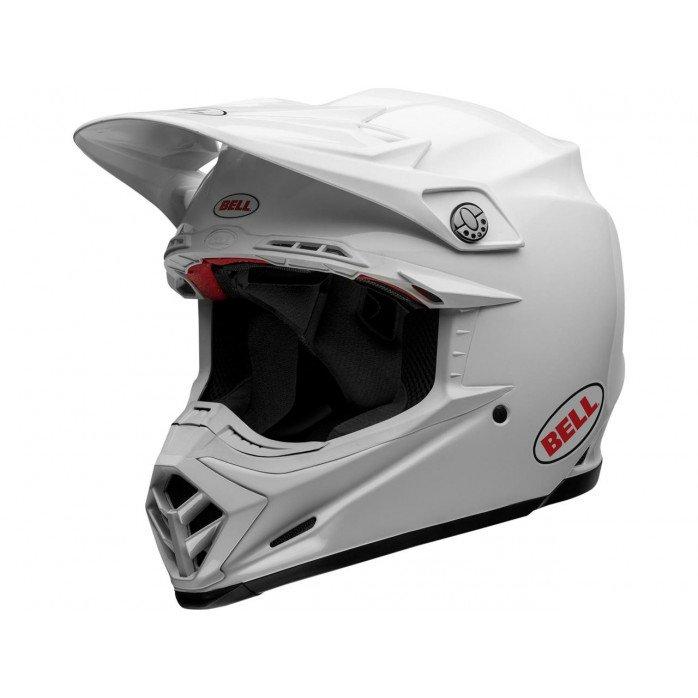 BELL Moto-9 Flex Helmet Solid White Size XS