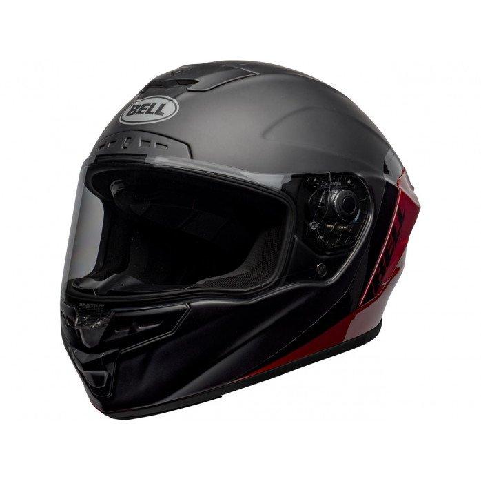 BELL Star DLX Mips Helmet Shockwave Matte/Gloss Black/Candy Red