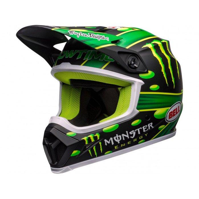 BELL MX-9 Mips Helmet McGrath Showtime Replica Matte Black/Green Size M
