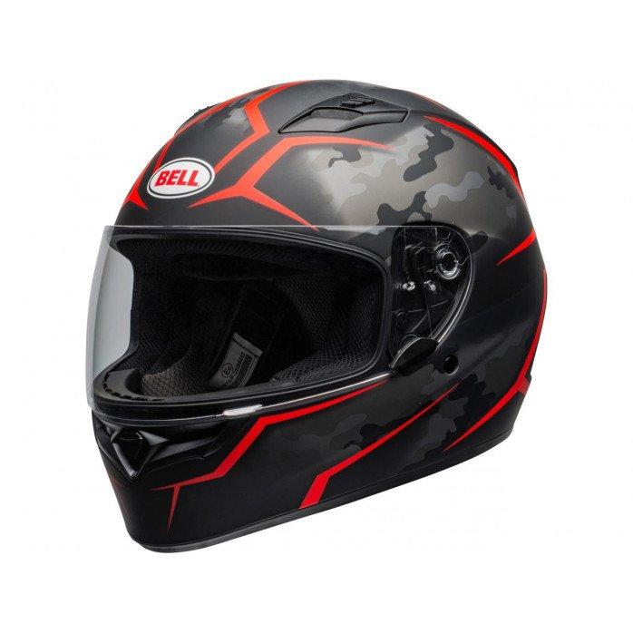 BELL Qualifier Helmet Stealth Camo Red Size XL