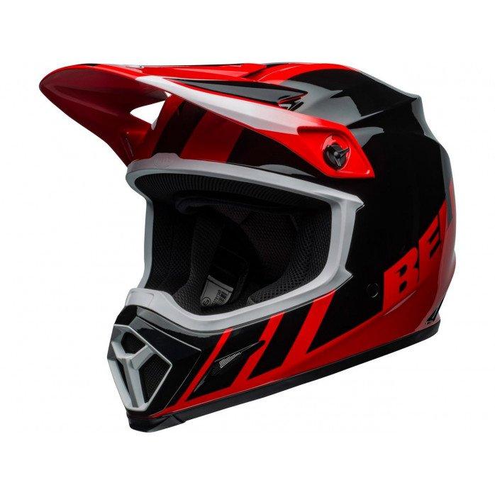 BELL MX-9 Mips Helmet Dash Black/Red Size XL