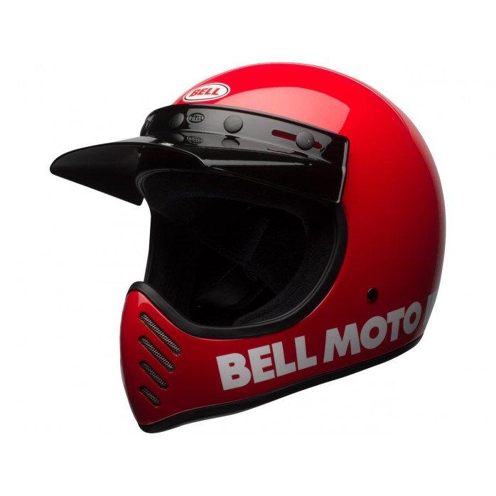 BELL Moto-3 Helmet Classic Red Size XS