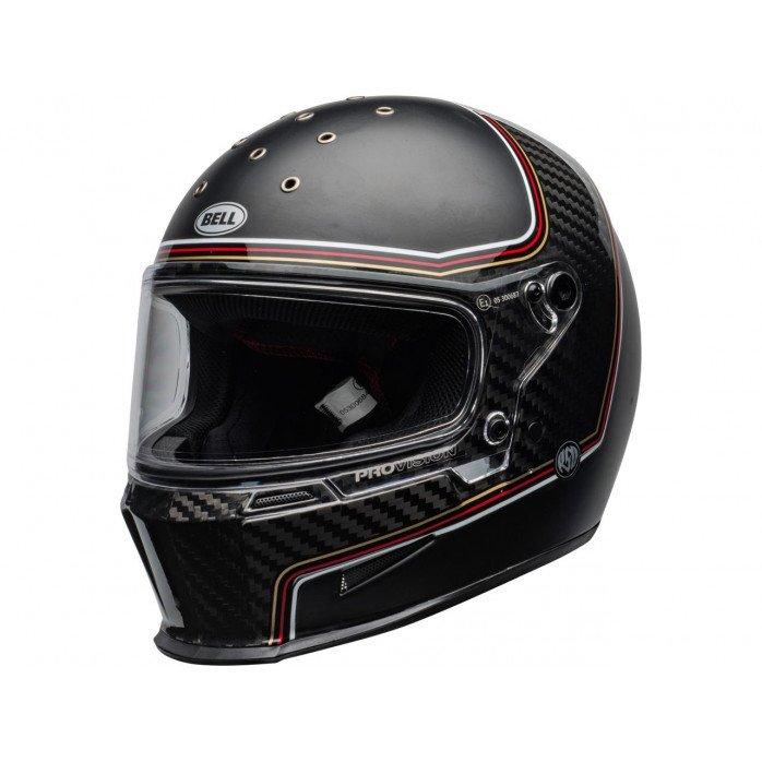 BELL Eliminator Carbon Helmet RSD The Charge Matte/Gloss Black Size XS