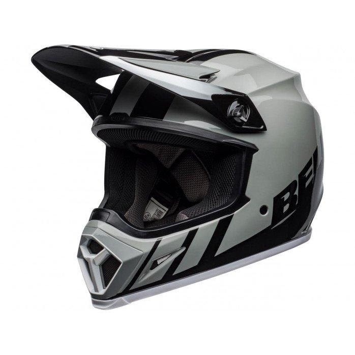 BELL MX-9 Mips Helmet Dash Gray/Black/White Size XL