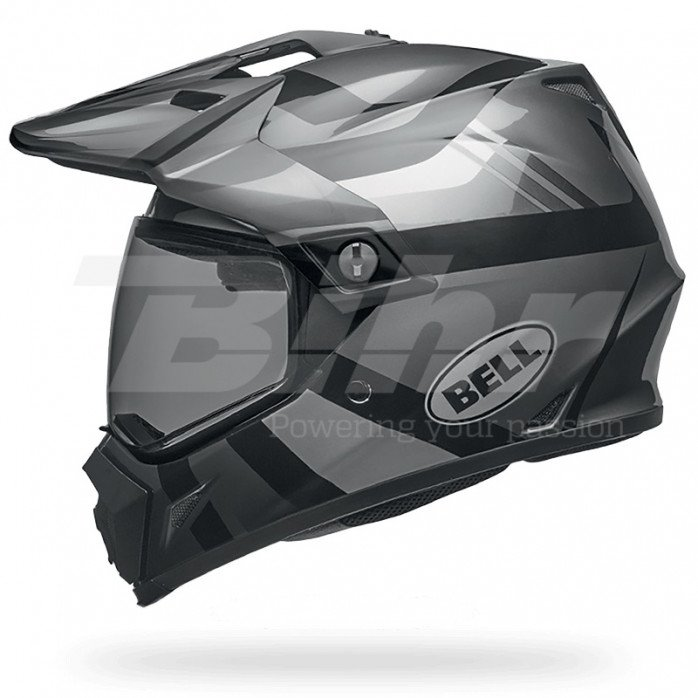 BELL MX-9 Adventure Mips Helmet Matte/Gloss Blackout Size XS