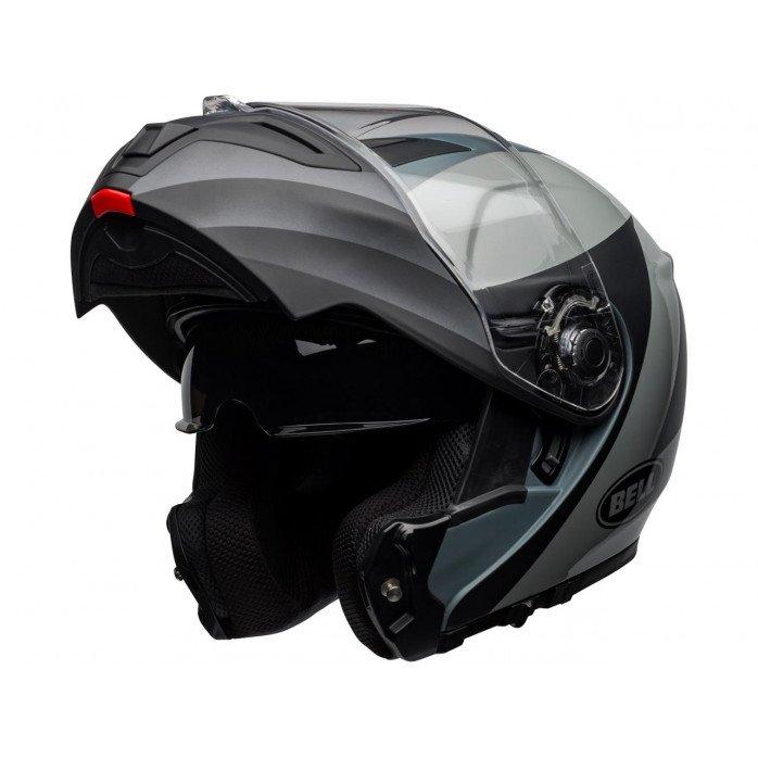 BELL SRT Modular Helmet Presence Matte/Gloss Black/Gray Size S