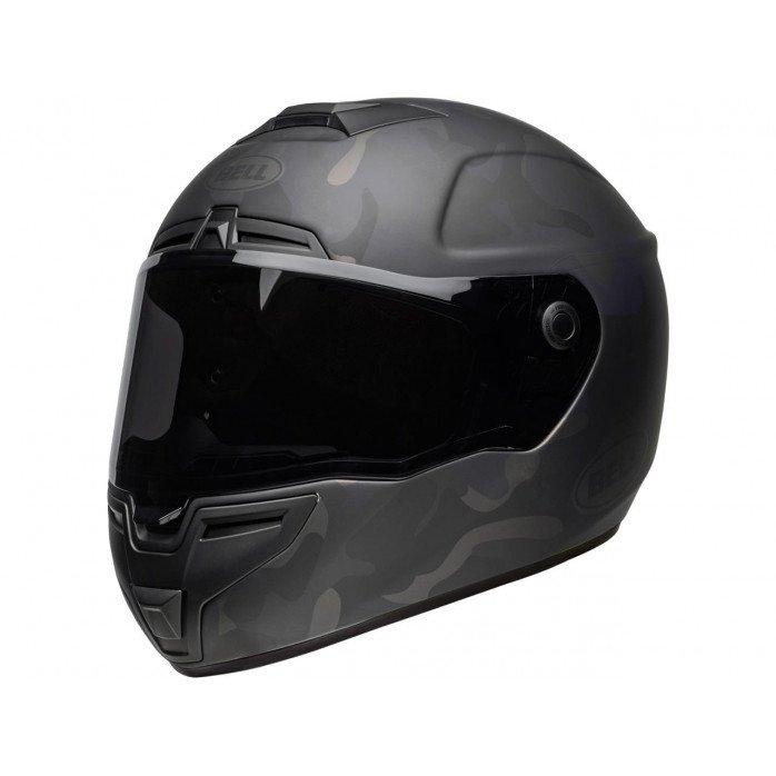 BELL SRT Helmet Stealth Matte Black Camo Size S