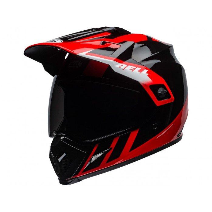 BELL MX-9 Adventure Mips Helmet Dash Gloss Black/Red/White