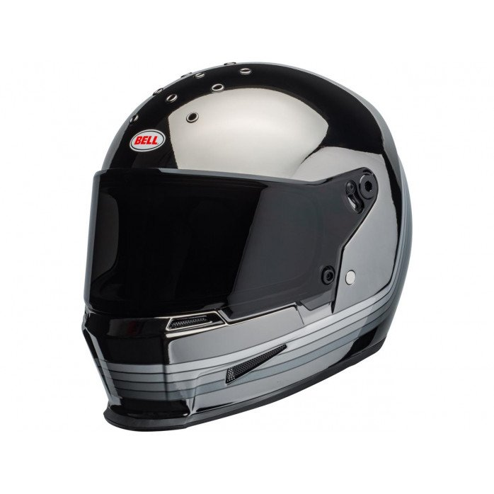 BELL Eliminator Helmet Spectrum Matte Black/Chrome Size XL