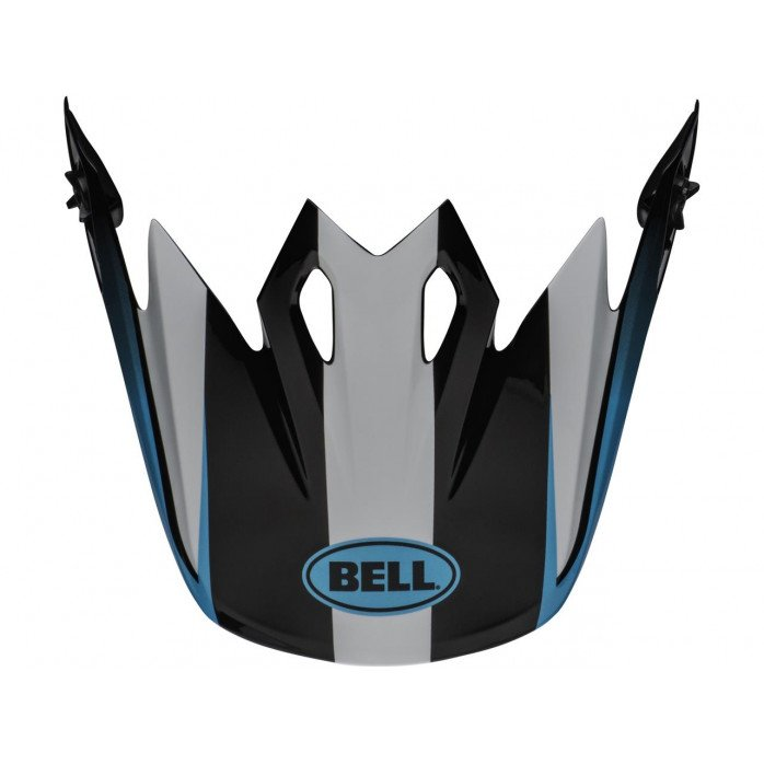 BELL MX-9 MIPSĀ® Visor Dash Bwhite/Blue/Red