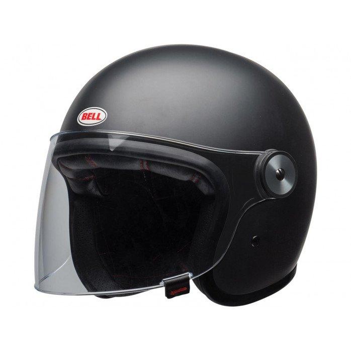 BELL Riot Helmet Solid Matte Black Size XL