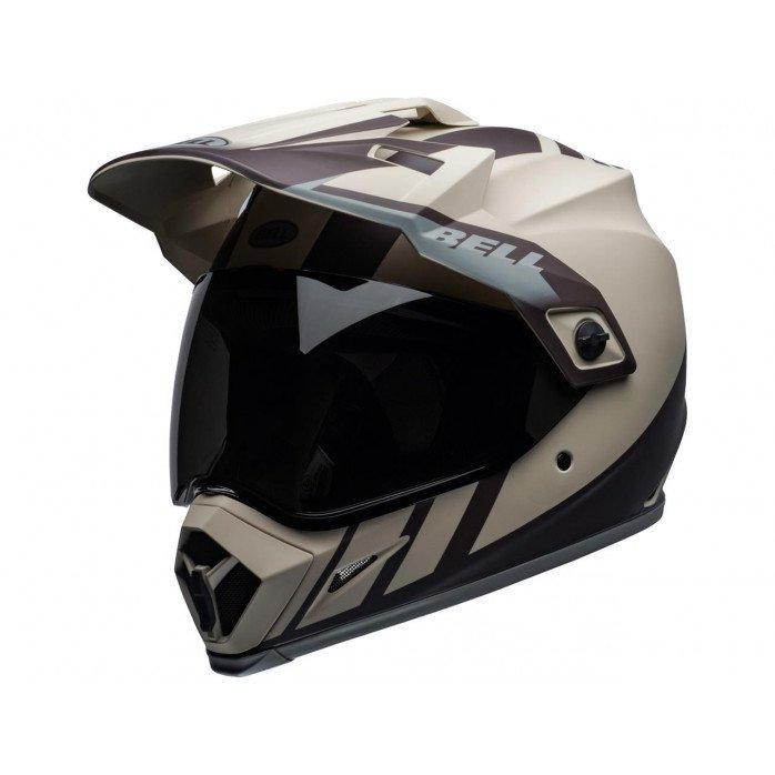 BELL MX-9 Adventure Mips Helmet Dash Matte Sand/Brown/Gray Size XS