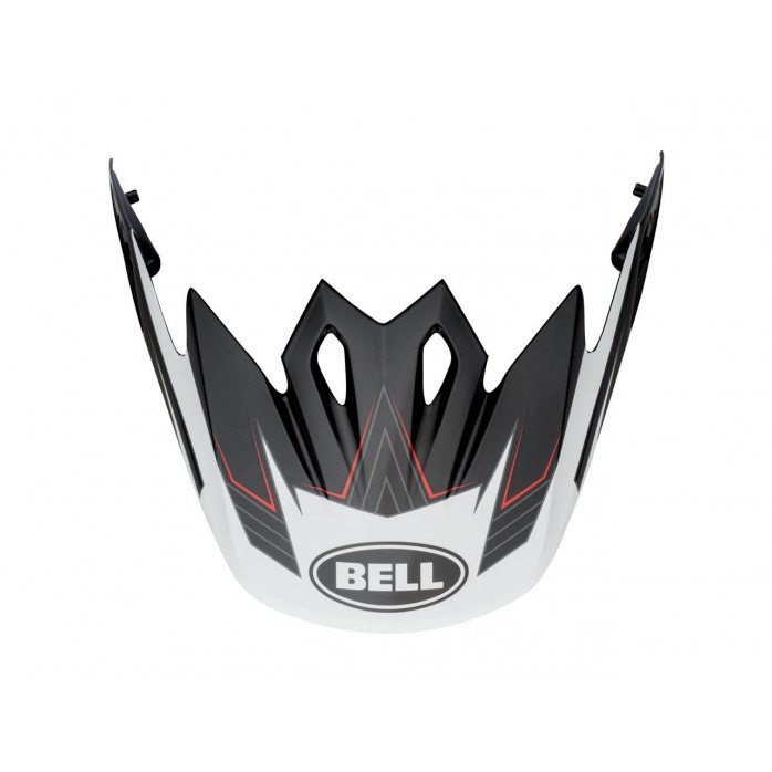 BELL Mx 9 Peek Blockade Black/White
