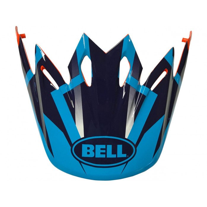 BELL Moto-9 Peak District Blue/Orange