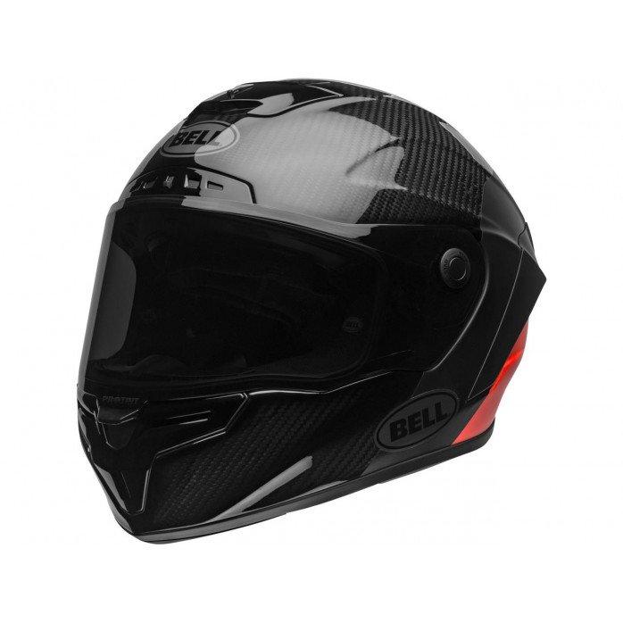 BELL Race Star Flex DLX Helmet Lux Matte/Gloss Black/Red