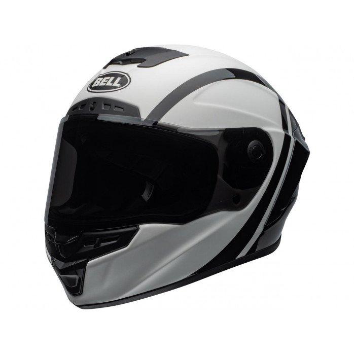 BELL Star DLX Mips Helmet Tantrum Matte/Gloss White/Black/Titanium Size M