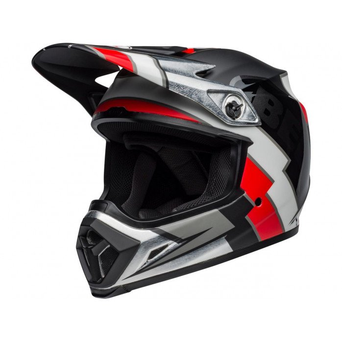 BELL MX-9 Mips Helmet Twitch Replica Matte Black/Red/White Size S