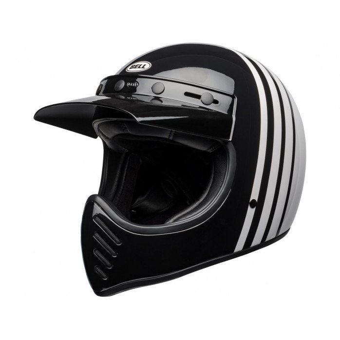 BELL Moto-3 Helmet Reverb Gloss White/Black