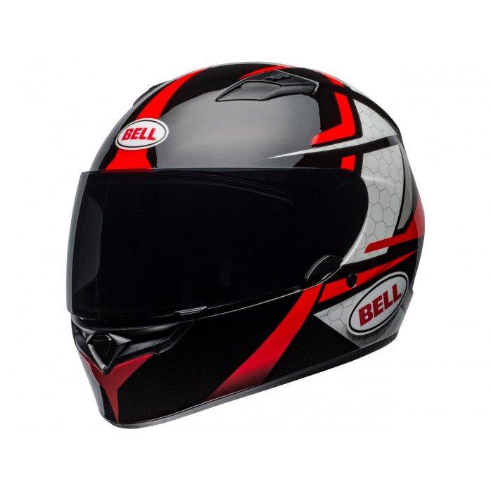 BELL Qualifier Helmet Flare Gloss Black/Red Size L