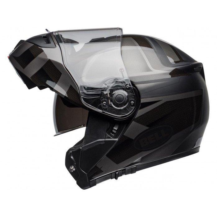 BELL SRT Modular Helmet Predator Matte/Gloss Blackout Size L