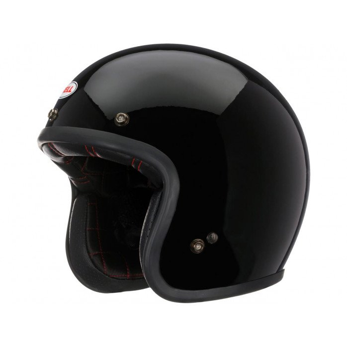 BELL Custom 500 DLX Helmet Solid Black Size S