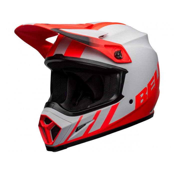 BELL MX-9 Mips Helmet Dash Matte Gray/Infrared/Black Size M