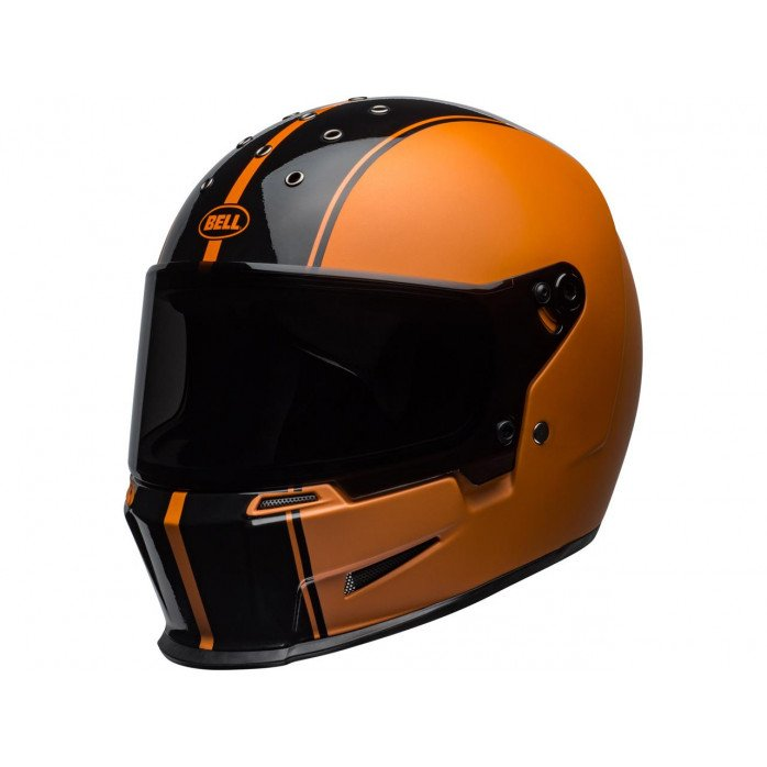 BELL Eliminator Helmet Rally Matte/Gloss Black/Orange Size M/L