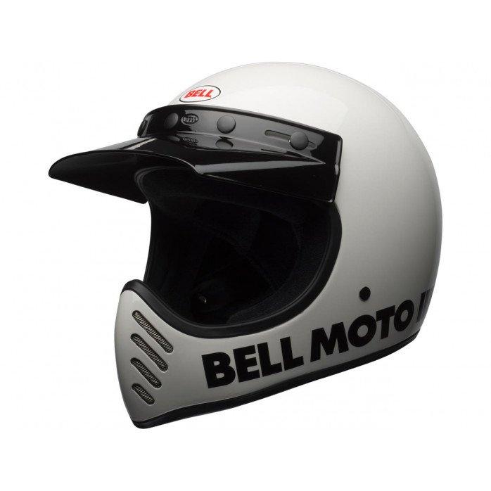 BELL Moto-3 Helmet Classic White Size XS