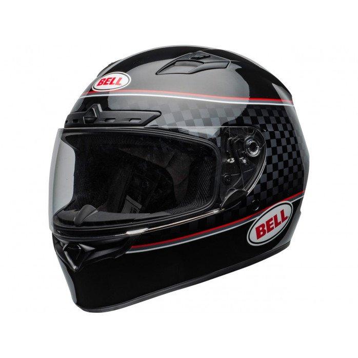 BELL Qualifier DLX Mips Helmet Breadwinner Gloss Black/White Size L