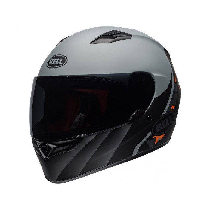 BELL Qualifier Helmet Integrity Matte Camo Titanium/Orange Size XXL