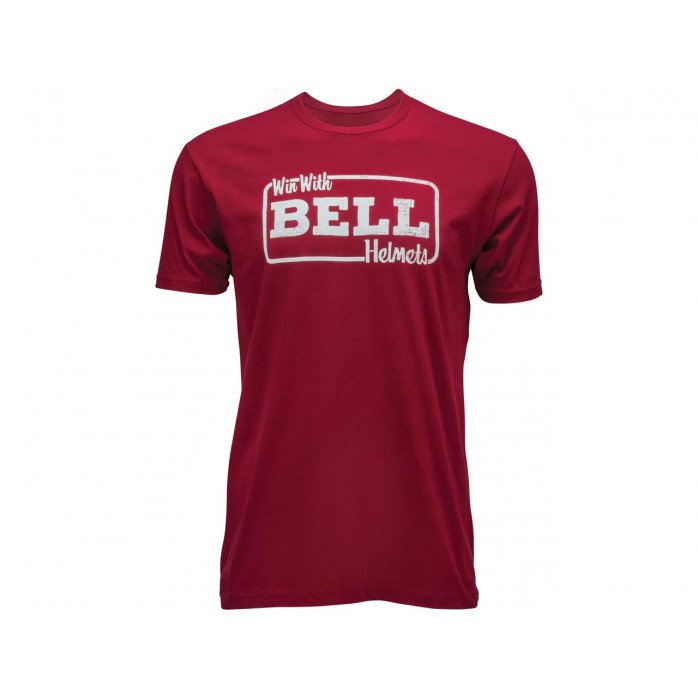 BELL Win With Bell T-Shirt Red Size M