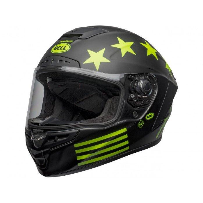 BELL Star DLX Mips Helmet Fasthouse Victory Circle Matte Black/Hi-Viz