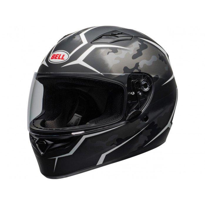 BELL Qualifier Helmet Stealth Camo Black/White Size S