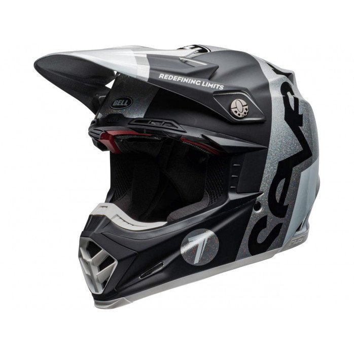 BELL Moto-9 Flex Helmet Seven Galaxy Black/Silver Size XS