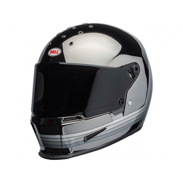 BELL Eliminator Helmet Spectrum Matte Black/Chrome Size L