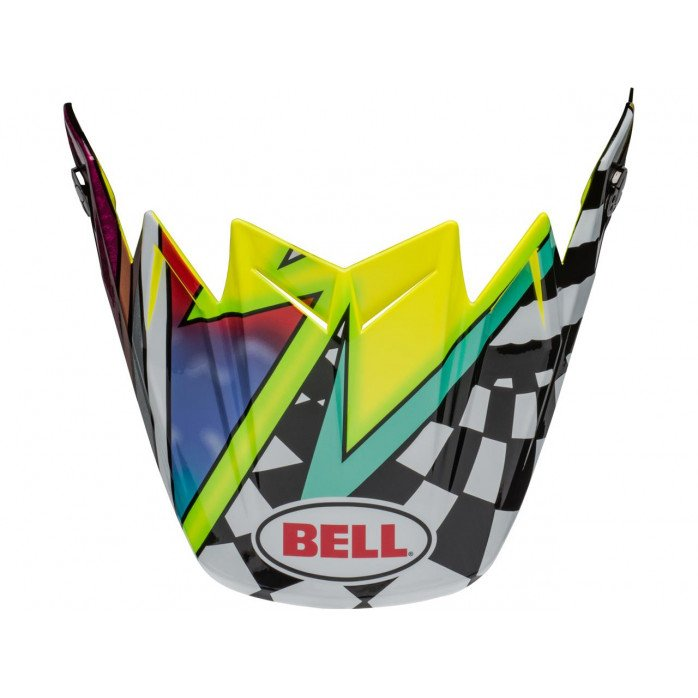 BELL MX-9 Visor Presence Black/White/Red