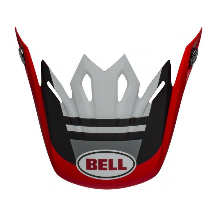 BELL Moto-9 MIPSĀ® Visor Prophecy White/Red/Black