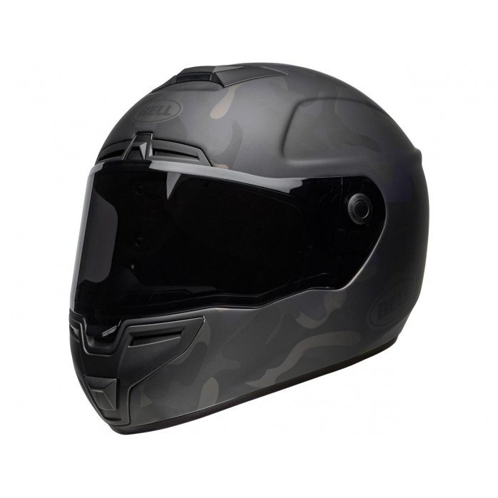 BELL SRT Helmet Stealth Matte Black Camo Size XL