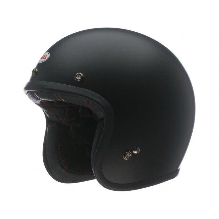 BELL Custom 500 DLX Helmet Solid Matte Black Size XXL