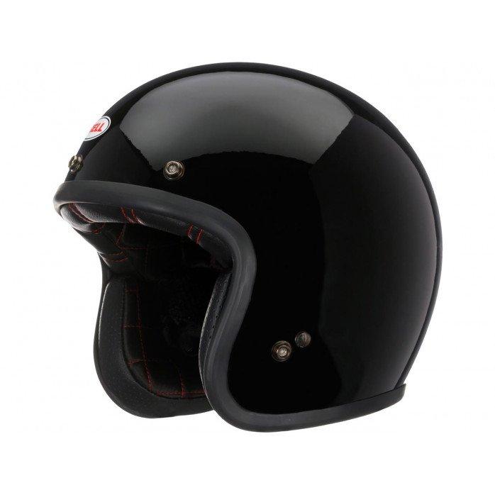 BELL Custom 500 DLX Helmet Solid Black Size M