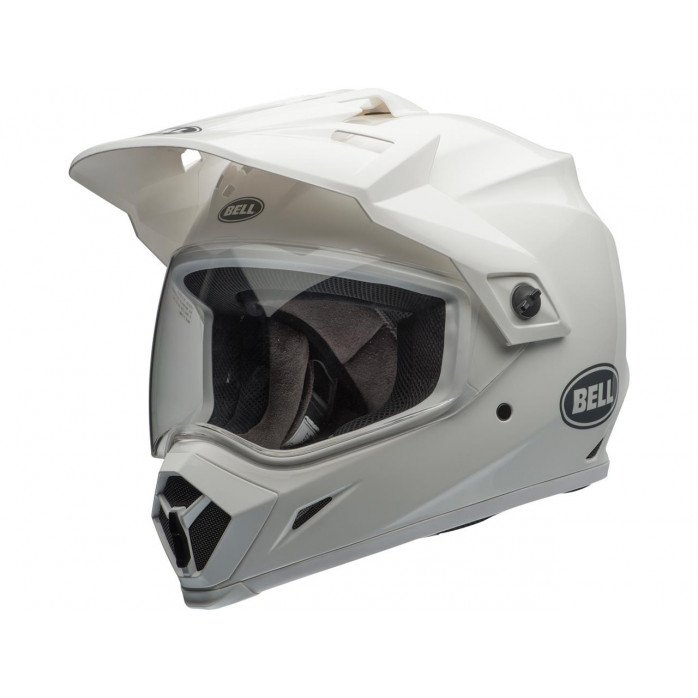 BELL MX-9 Adventure Mips Helmet Gloss White Size S